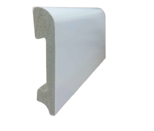Zocalo blanco WPC 15*80*2400 mm
